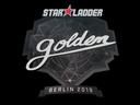 Sticker | Golden | Berlin 2019