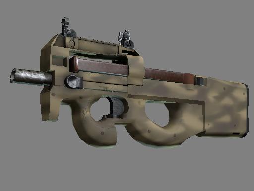 Souvenir P90 | Sand Spray (Minimal Wear)