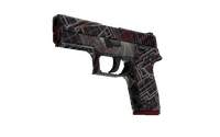 Souvenir P250 | Facility Draft (Factory New)