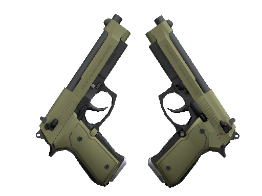 Souvenir Dual Berettas | Colony (Minimal Wear)