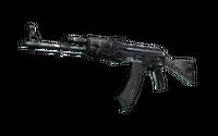 Souvenir AK-47 | Black Laminate (Battle-Scarred)