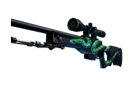 StatTrak™ AWP | Atheris (Well-Worn)