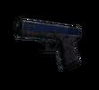 Glock-18   Синяя трещина (Закаленное в боях)