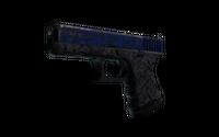 Glock-18 | Blue Fissure (Battle-Scarred)
