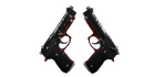 StatTrak™ Dual Berettas | Panther (Field-Tested)