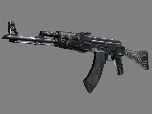 Souvenir AK-47   Black Laminate (Well-Worn)