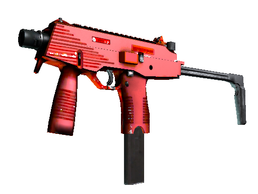 Souvenir MP9 | Hot Rod (Minimal Wear)