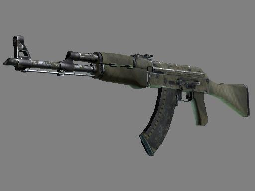 Souvenir AK-47 | Safari Mesh (Battle-Scarred)