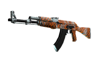 Souvenir AK-47 | Safety Net (Well-Worn)