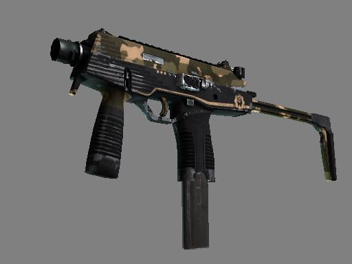 StatTrak™ MP9 | Black Sand (Well-Worn)
