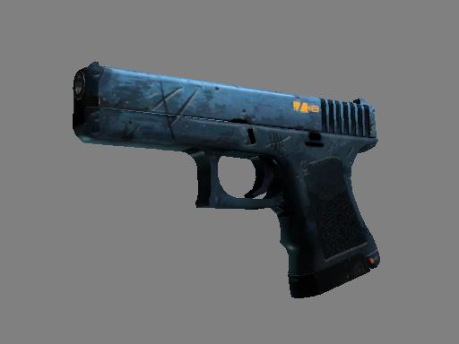 StatTrak™ Glock-18   Off World (Well-Worn)