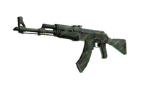 AK-47 | Jungle Spray (Minimal Wear)