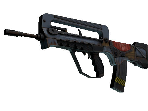 FAMAS | Decommissioned (Well-Worn)