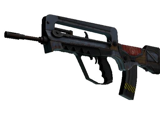 FAMAS | Decommissioned (Battle-Scarred)