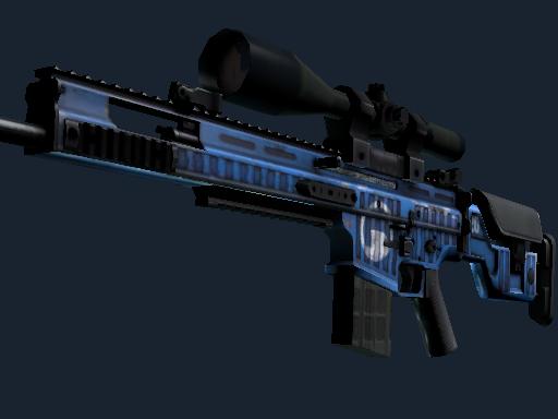 StatTrak™ SCAR-20 | Assault (Minimal Wear)