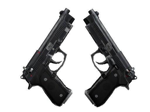 Dual Berettas | Elite 1.6 (Battle-Scarred)