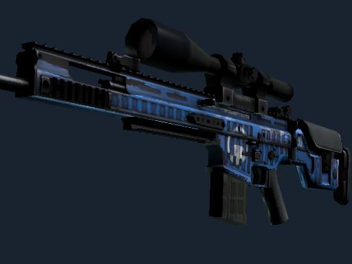 SCAR-20 | Assault (Well-Worn)