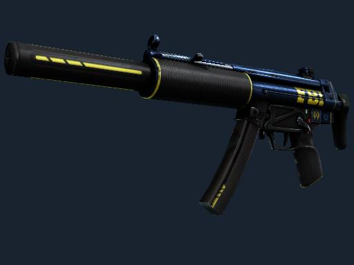 StatTrak™ MP5-SD | Agent (Well-Worn)