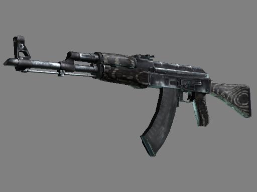 Souvenir AK-47   Black Laminate (Battle-Scarred)