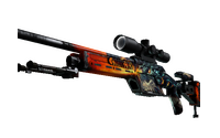 SSG 08 | Dragonfire (Field-Tested)