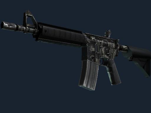 M4A4 | Mainframe (Well-Worn)