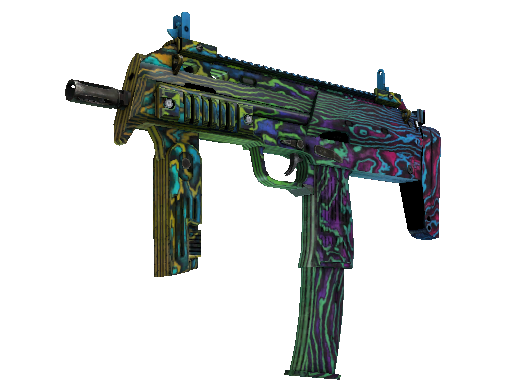 MP7 | Neon Ply (Well-Worn)