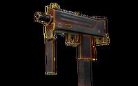 MAC-10   Heat (Battle-Scarred)