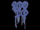 Sealed Graffiti | 200 IQ (SWAT Blue)
