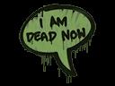 Sealed Graffiti   Dead Now (Battle Green)