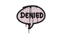 Sealed Graffiti | Denied (War Pig Pink)