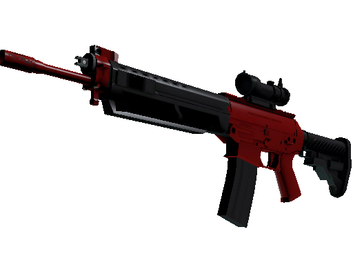 SG 553 | Candy Apple (Minimal Wear)