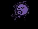 Sealed Graffiti | Smooch (Monster Purple)
