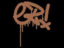 Sealed Graffiti | Little EZ (Tiger Orange)
