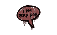 Sealed Graffiti | Dead Now (Brick Red)