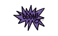 Sealed Graffiti | BOOM (Monster Purple)