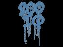 Sealed Graffiti | 200 IQ (Monarch Blue)