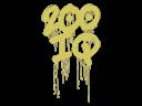 Sealed Graffiti | 200 IQ (Tracer Yellow)
