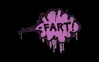 Sealed Graffiti | Fart (Bazooka Pink)
