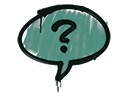 Sealed Graffiti | Question Mark (Frog Green)