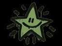 Sealed Graffiti | Shining Star (Battle Green)
