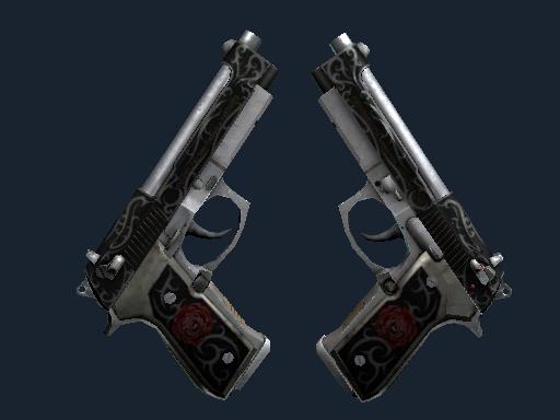 Dual Berettas | Balance (Battle-Scarred)