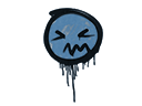 Sealed Graffiti   Grimace (Monarch Blue)