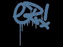 Sealed Graffiti   Little EZ (Monarch Blue)