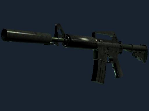 M4A1-S | Moss Quartz (Minimal Wear)