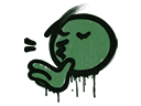 Sealed Graffiti | Chef Kiss (Jungle Green)
