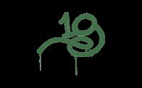 Sealed Graffiti | 1G (Jungle Green)