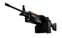 StatTrak™ M249 | Warbird (Well-Worn)
