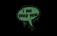 Sealed Graffiti   Dead Now (Jungle Green)