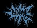 Sealed Graffiti | BOOM (Monarch Blue)