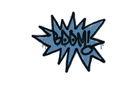 Sealed Graffiti | BOOM (Monarch Blue)
